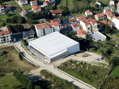 Instalación eléctrica del pabellón polideportivo Torres Colomer, en Palmeira